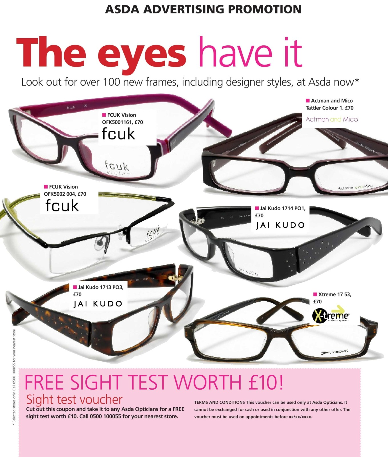 advertising writing asda opticians copywriter portfolio examples advertising writing sample for asda magazine